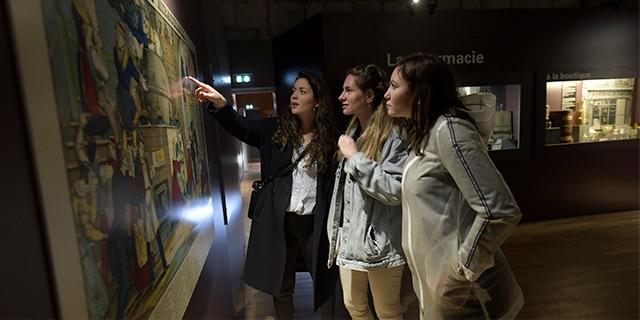 Photo de l'intérieur du musée Comtois