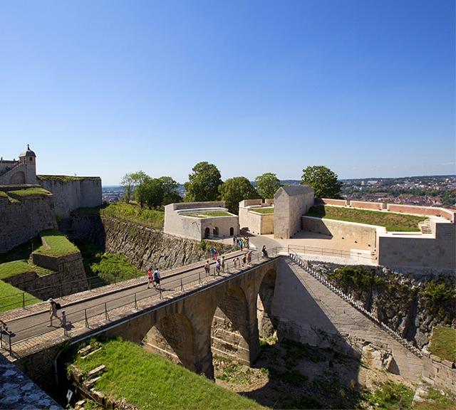 Photo d'une partie de la Citadelle de Besançon