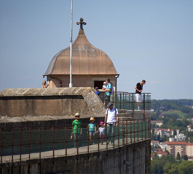 La tour de la reine de la Citadelle de Besançon