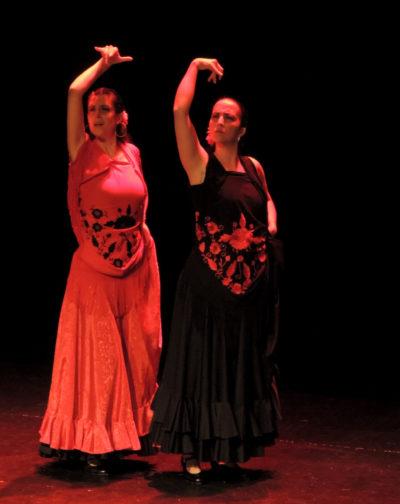 Spectacle nocturne par la compagnie Duende Flamenco