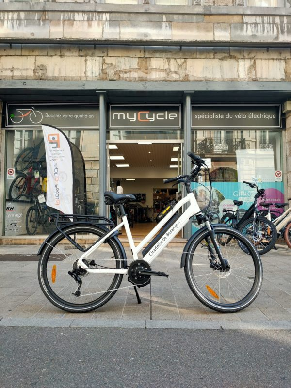 La Citadelle accessible en vélo à assistance électrique : de juillet à septembre inclus
